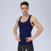 男塑身衣-無縫升級版束腰收腹挺胸透氣緊身男士塑身背心 0002