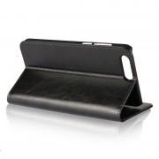手機保護套-華碩真皮錢包手機皮套ze554kl  Zenfone 5z ZS620KL / 5 ZE620KL左右翻蓋保護