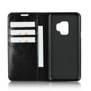 手機保護套 三星S9手機殼三星附註八保護套新款s9plus手機套真皮插卡翻蓋 0037
