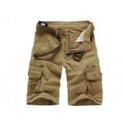 純棉外貿男裝男褲 超級大碼歐美時尚工裝褲五分褲全棉短褲0082