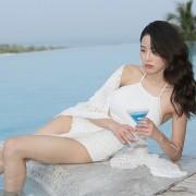 性感泳衣女保守韓國小胸聚攏遮肚顯瘦連體裙式泡溫泉游泳衣女
