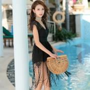 新款泳裝韓國連體泳衣女小胸鋼托聚攏性感遮肚顯瘦溫泉泳衣