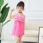 新款分體女童泳衣兒童泳衣公主裙泳衣批發廠家直銷