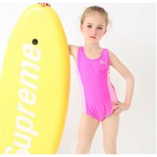 汐琪兒童泳衣 專業競技兒童泳衣 女童連體泳衣