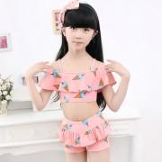海依珊兒童泳衣分體裙式女童泳衣可愛平角裙式 6117