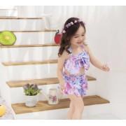 新款兒童泳衣 夢幻寶寶比基尼 女童大蝴蝶結分體泳衣