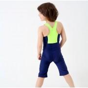 新款兒童泳衣 專業競技兒童泳衣 連體運動兒童連體泳衣
