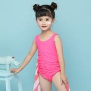 汐琪新款兒童泳衣 女童連體泳衣 可愛蝴蝶寶寶游泳衣