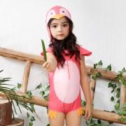 新款兒童泳衣 卡通男女童連體泳衣 小寶寶游泳衣