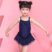 汐琪兒童泳衣 爆款連體裙女童泳衣 公主紗裙寶寶泳衣