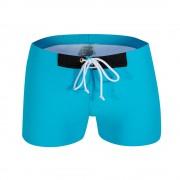 austinbe男式泳褲男士游泳褲爆款平角泳褲沙灘泳池時尚游泳褲