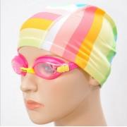 廠家正品男女通用 花色游泳帽批發純色布泳帽 舒適游泳帽成人