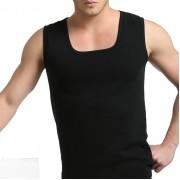 男士內褲批發 加厚不倒絨加絨保暖內衣保暖背心打底衣 單件背心