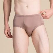 男真絲內褲中腰薄款雙面針織桑蠶絲三角內褲夏季舒適透氣寬松短褲