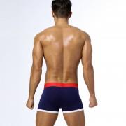 新款性感內褲男 速賣通EBAY純棉85ES男士平角褲含包裝袋