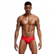 男士莫代爾三角內褲性感透氣柔軟貼身高品質寬腰帶舒適三角褲短褲